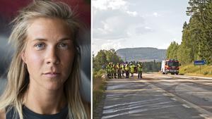 Anna Lindner jobbar som undersköterska och är även deltidsbrandman för Räddningstjänsten i Åre.
