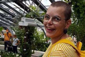 Nina Norén verksamhetsledare för den öppna studiecirkelverksamheten på ABF i Örebro län. – Det är många söker sig till ABF:s studiecirklar. Folk vill mötas och vi spelar en viktig roll, säger hon.