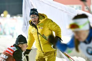 Förbundskaptenen för det svenska skidskyttelandslaget, Wolfgang Pichler. Bild: TT Nyhetsbyrån.