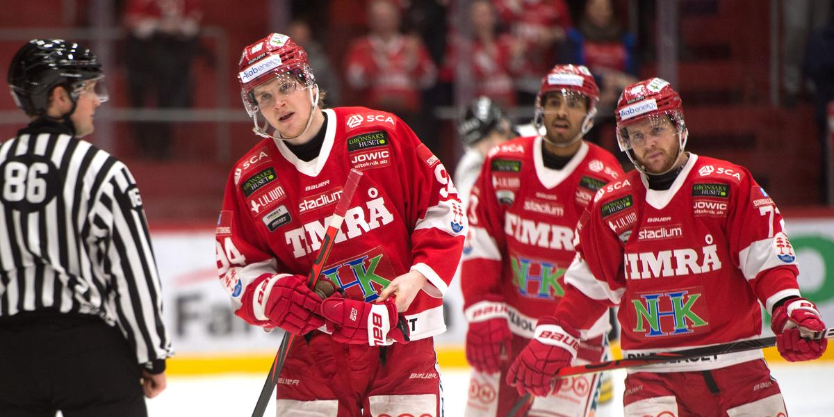 LIVE: Pigg start av Timrå – följ matchen mot Västervik