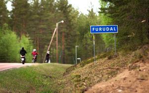 Infarten till Furudal från Rättvishållet till.