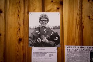 Gun Eriksson var häcklöperska, och en av två LAIK:are som deltog i OS. Gun tävlade i München 1972.