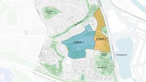 Strukturplanen för Mariekäll och Saltskog har lett fram till ett förslag om 700 bostäder. Nu vill kommunen inleda detaljplanearbete för två etapper, varav den första påbörjas i år och den andra nästa år.Karta: Södertälje kommun