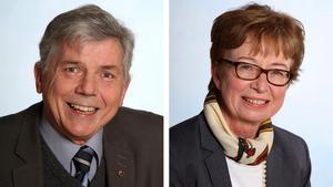 Börje Karlsson och Kerstin Eriksson är Centerns toppkandidater i Nykvarn.
