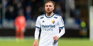 Jonathan Ring spelade med ÖSK Ungdom, men aldrig med ÖSK i allsvenskan. Nu sitter han, tillsammans med sitt Djurgården, i förarsätet i den allsvenska guldstriden. Bild: Bildbyrån