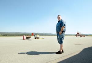 Flygplatschef Per Enroth.
