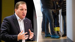 Signaturen IB Sparring tycker att Stefan Löfven resonerar fel kring att det inte är politiker som bestämmer om asylbeslut: