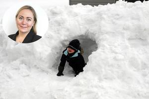 Snögrottor väcker minnena till liv hos krönikören.Bild: Staffan Almquist/Scanpix