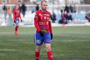 BKV-kaptenen Oskar Kiianlinna var inte nöjd även om laget lyfte spelet i andra halvlek.