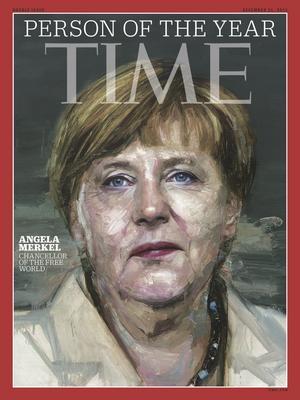 Tysklands förbundskansler Angela Merkel utsågs till årets person av Time.