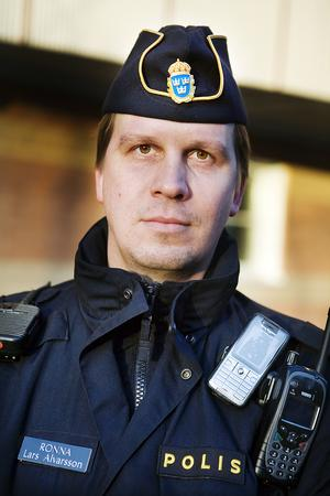 Lars Alvarsson, Södertäljepolisen.