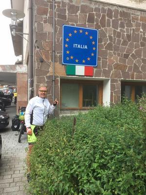 Varmt och skönt i Italien.Foto: Privat
