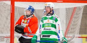 Robin Andersson hotade gång på gång framför Jesper Thimfors men saknade den där sista skärpan i avsluten.