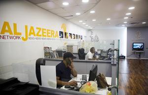 Somalia Bandy gav eko i världspressen för fem år sedan. Nu vill tv-jätten Al-Jazira göra en uppföljning på integrationsprojektet. Foto: AP