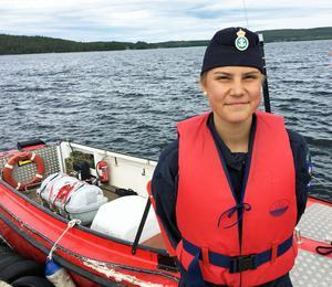 Siri Lundberg kan tänka sig en framtid på sjön.