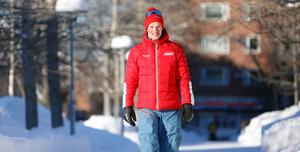 På väg mot något stort? Oskar Kardin, Östersund, har ett enda mål i sikte på söndag; seger i Vasaloppet.