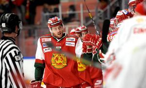 Oscar Eklind gjorde mål för andra matchen i rad mot Vita Hästen.