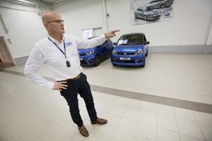 Robert Udenius, vd på Dahlboms bil ser mopedbilarna som en viktig marknad. Hittills i år har de sålt ungefär två bilar i veckan. – Det är en markant ökning sedan förra året, säger han.