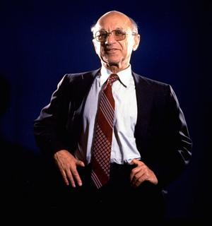 Milton Friedman, förgrundsperson för den ekonomiska nyliberalismen. Foto: AP Photo / Eddie Adams.