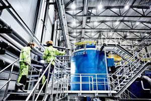Boliden investerar 60 miljoner kronor i Garpenberg för att få produktionen att fungera bättre.Foto: Stefan Berg