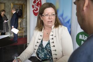 Vicki Skure-Eriksson (C), ordförande i nämnden för idrott, fritid och förebyggande.