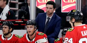 Jeremy Colliton har fått en tuff start på sin NHL-karriär.