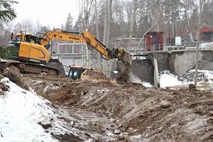 5500 kubikmeter schaktmassa ska grävas bort i projektet.