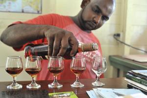 Tobago Cocoa Estate erbjuder rom och choklad-provning av hög klass.