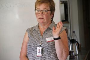 Marita Wikström är den hos Ljusdalskommun som ansvarar för de evakuerade. Hon är också med i posomgruppen.