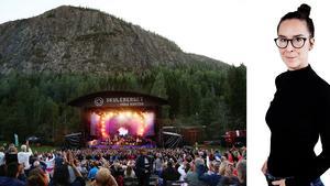 Hanna Persson: När musiker kliver upp på Skule naturscen börjar berget att dansa