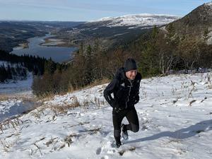 Träningen inför Spartan Ultra har hjälpt Tommy efter att han fick sin diagnos. Foto: Therese Nordfeldt