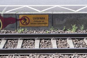Det troliga är att en höghastighetsbana kommer att prioriteras i alla avseenden på bekostnad av den vanliga järnvägen, skriver insändarskribenten. Foto: TT