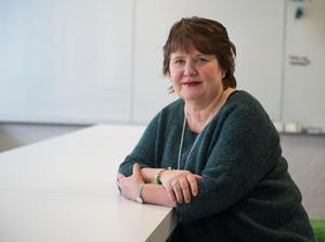 Åsa Holgersson, ordförande Vårdförbundet avdelning Västernorrland.