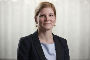 Lisa Lorentzon är ordförande för Akademikerföreningen på Scania. Foto: Scania