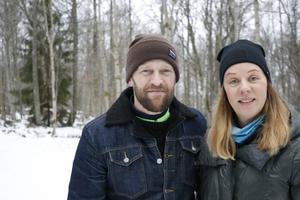 Anders och Stina Granberg som anordnar loppet.