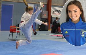 Nelly Asp går i storasysterns fotspår. Efter helgens SM-guld är hon uttagen i ungdomslandslaget.