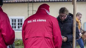 Runt sextusen personer har besökt Färnas julmarknad varje år de senaste åren.