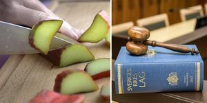 Mannens förklaring köptes inte av rätten och han dömdes till 2 500 kronor i böter och fick dessutom sin kniv förverkad. Bild: TT