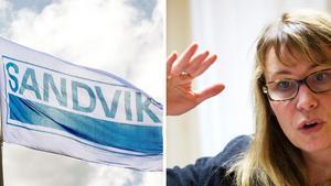 Foto: Lasse Halvarsson/Jörgen SvendsenUlrika Porath, pressansvarig på Sandvik SMT.