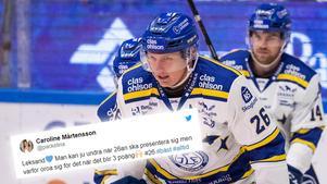 Patrik Zackrisson gjorde sitt första mål med Leksand i SHL i derbyt mot Brynäs:
