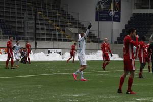 Christian Ljungberg gjorde 2–0 för Gefle innan Team TG reducerade och kvitterade på två minuter.