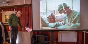 Anders Hällzon, Mission Aviation Fellowship, berättade om MAF:s arbete i Kongo-Kinshasa där Nobelpristagaren doktor Denis Mukwege opererar kvinnor som skadats i samband med våldtäkt.