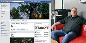 Anders Pettersson är huvudadministratör för den återuppståndna Facebookgruppen