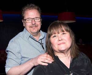 Jerry Brodin och Leila Vainionpää.