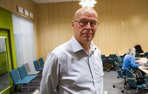 Pär Jonsson är i dag informationschef, en av de tjänster som nu försvinner.