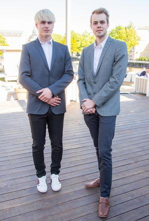 Gustaf Dahl och Erik Alfraeus.