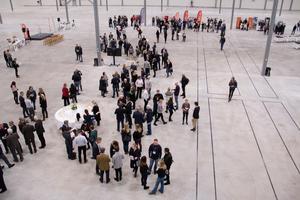 300 personer deltog vid invigningsceremonin för nya Apotea.