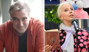 Jamie Martin berättar om sin beundran för Anne Sofie von Otter. Bild: Kerstin Monk och TT