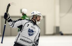 Markus Karlström har varit en av lagets bästa målskyttar i vinter och har fått många målgivande passningar av Mattias Widén.