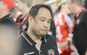 Noél Alm Johansson, tränare i Kais Mora.